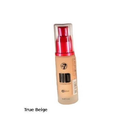 W7 High Definition Foundation 30ml - True Beige