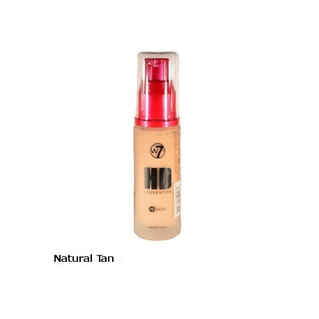 W7 High Definition Foundation 30ml - Natural Tan