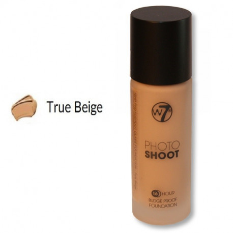 W7 16HR Photoshoot Glass Foundation 28ml - TRUE BEIGE
