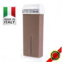 Roial Κερί αποτρίχωσης Ρολλέτα Καφέ Σοκολάτα 100ml