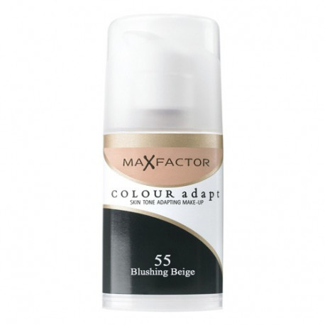 Max Factor Colour Adapt Foundation 55 Blushing Beige 34ml