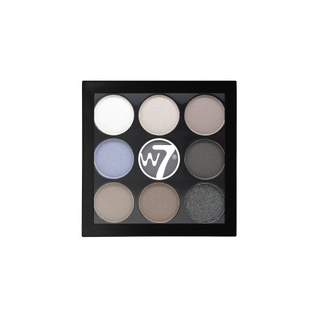 W7 Naughty Nine Eyeshadow Palette Hard Days 4,5g