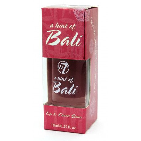 W7 Lip Cheek Stain Hint Of Bali 10ml