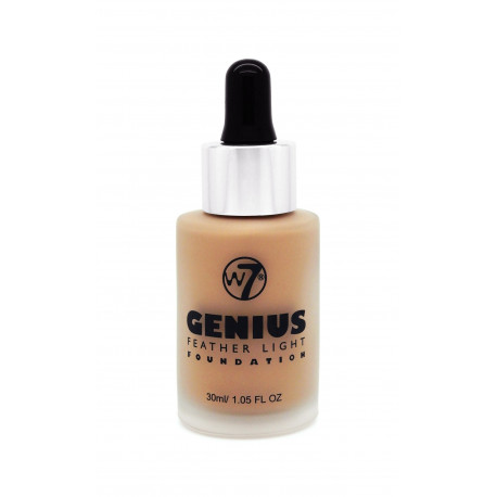 W7 Genius Foundation True Beige 30ml