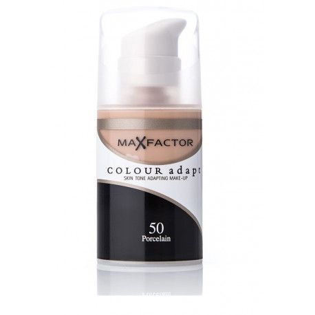 Max Factor Colour Adapt Foundation 50 Porcelain 34ml