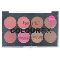 Technic Colour Fix Cream Blush & Bronze Palette 8x3,5g