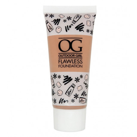 W7 Outdoor Girl Flawless Foundation 30ml Natural Beige