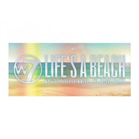 W7 Life's A Beach Metallic Beach Shimmers Eye Colour Palette