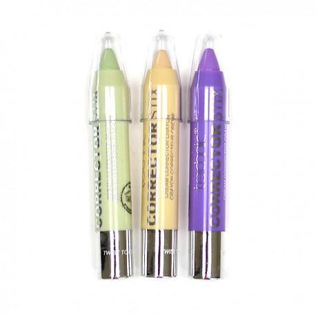 Technic Corrector Stix 3 Cream Colour Corrector Crayons 8.4g