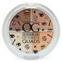 W7 Outdoor Girl Eye Shadow Quads Palette - Caffe Latte 3g