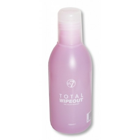 W7 Total-wipeout-nail-polish-remover 150ml