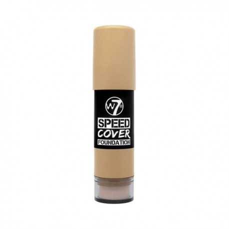 W7 Cosmetics Speed Cover Foundation Medium Brown 4gr