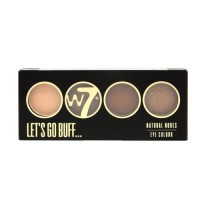 W7 Let's Go Quad Eye Color Palette - Let's Go Buff 5g