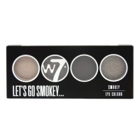 W7 Let's Go Quad Eye Color Palette - Let's Go Smokey 5g