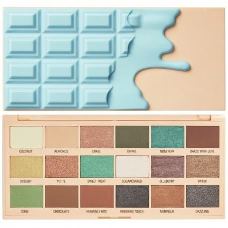 I Heart Revolution Macaroons Chocolate Eyeshadow Palette 18,8gr