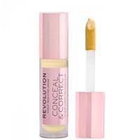 Makeup Revolution Conceal & Correct Concealer - Banana Deep (4gr)