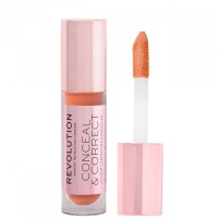 Makeup Revolution - Conceal & Correct Liquid Concealer - Orange