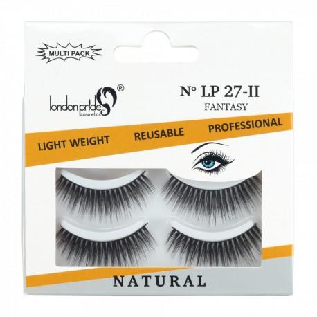 London Pride 3D Silk Natural Eyelashes - LP27 Fantansy