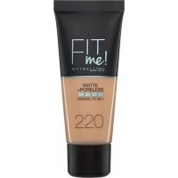Maybelline Fit Me Matte Poreless Foundation 220 Natural