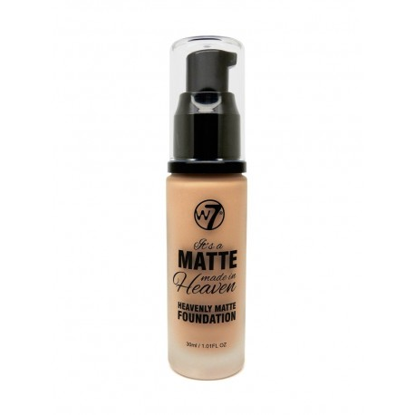 W7 It's a Matte Made in Heaven Foundation - Natural Tan