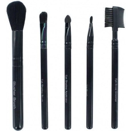 Royal 5 Piece Set Cosmetic Make up Brush Collection Blusher Brow comb