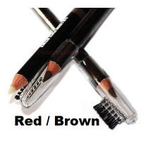 W7 Brow Master 3-in-1 Brow Pencil Definer Red/Brown