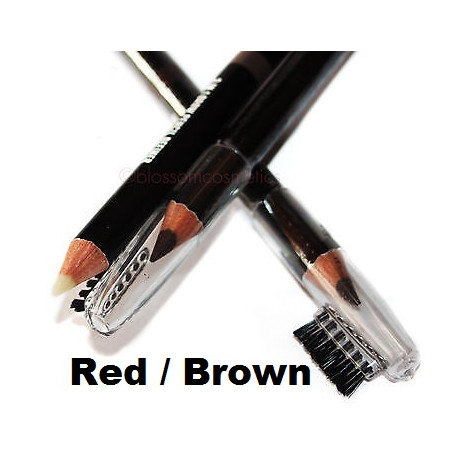 W7 Brow Master 3-in-1 Brow Pencil Definer 1g Red/Brown