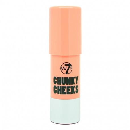 W7 Chunky Cheeks Blusher 7g - London